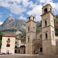 Catedral de San Trifón en Kotor en Montenegro