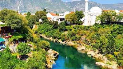 Mehmed Pasha Sokolovic Moschee in Mostar