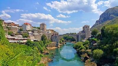 ponte vecchio di Mostar