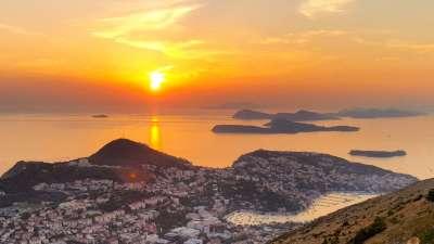 mejor lugares para ver la puesta de sol en Dubrovnik