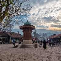 Altstadt von Sarajevo - Ibrik Brunnen
