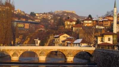 Puente Sahercehaja Sarajevo