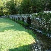 restos de la cultura romana cercano de Dubrovnik