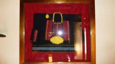 bordeada tradicional con seda en Konavle