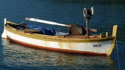 barco de pesca en el Adriático Dubrovnik