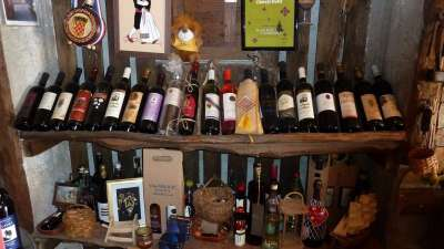 gran selección de vinos de calidad en la propiedad agrícola en Konavle Croacia