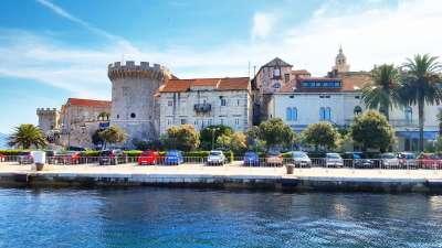 Korcula Insel Kroatien