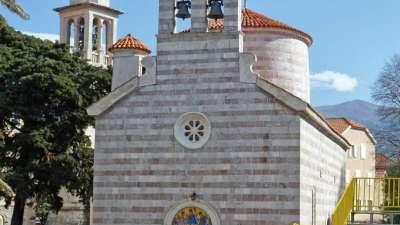 Iglesia de San Nicolás en budva